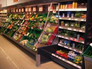 Kältetechnik im Supermarkt
