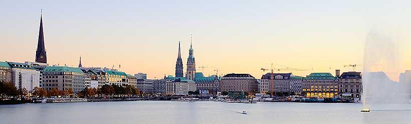 Hamburg Klimaanlagen - Alsterpanorama